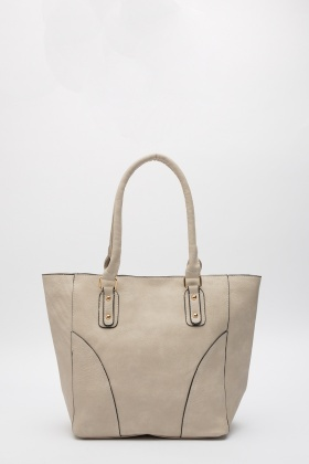 Quilted Faux Leather Tote Bag - Just £5 : quilted faux leather tote - Adamdwight.com