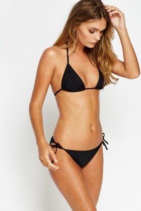 Classic black bikini