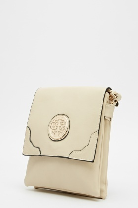 Front Detailed Cross Body Bag