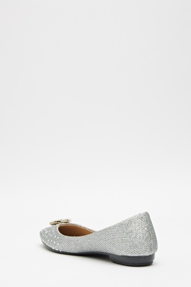 Diamante Glitter Pumps