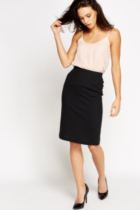 Formal Midi Pencil Skirt - Just £2