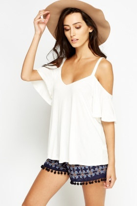 Cold Sleeves Top
