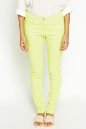 Neon Coloured Jeans