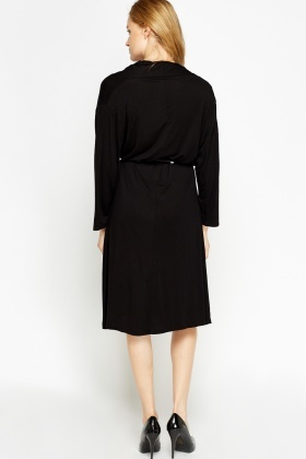 Long Sleeve Oversized Jersey Dress