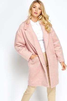 Pink Boyfriend Coat - Just £5