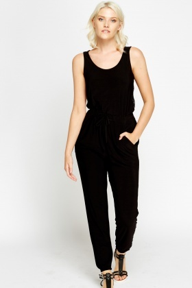 Lace Back Jumpsuit