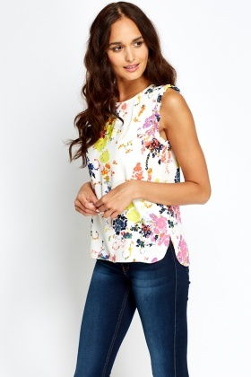 Frilled Sleeves Top