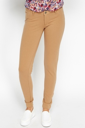Low Rise Casual Cotton Leggings