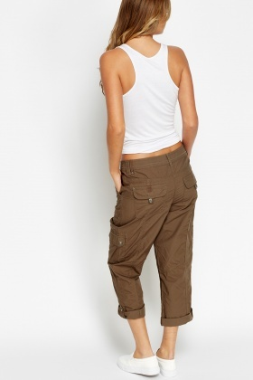 Multi Pocket Light Trousers