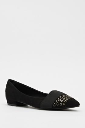court studded heel