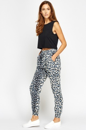 Animal Printed Light Trousers