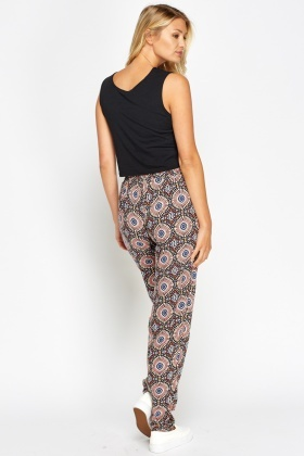 Ornate Printed Trousers