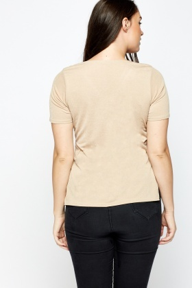 Side Slit Casual Top
