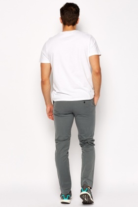 Fitted Chino Trousers