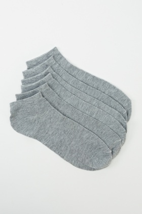 Mens 6 Pairs Pack Of Cotton Rich Socks
