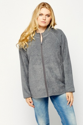 Fleeced High Neck Sweater