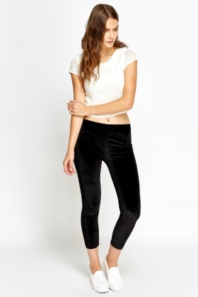Velveteen Leggings