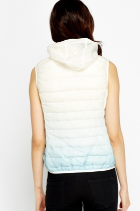 Quilted Ombre Bodywarmer