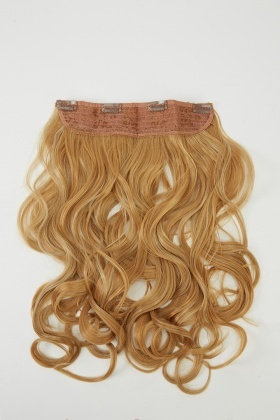 Curly One Hair Clip Extension