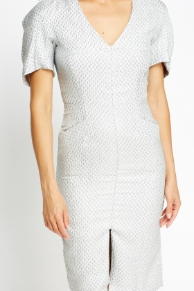 Textured Formal Dress