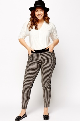 Contrast Mono Leggings
