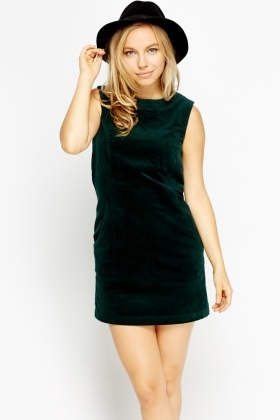 V neck black dress uk 5 pound