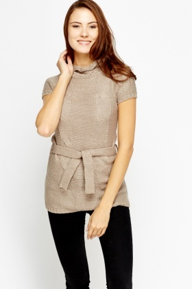 Metallic Kable Knit Jumper