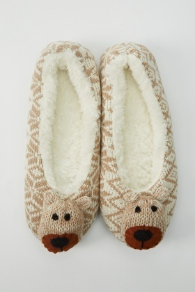 Animal Knitted Slippers