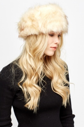 Faux Fur Speckled Headband
