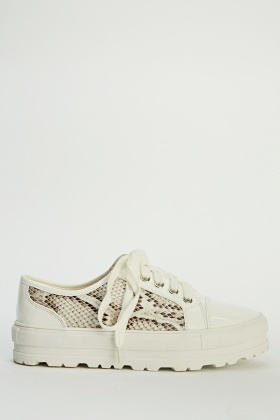 Insert Moc Crock Low Top Trainers