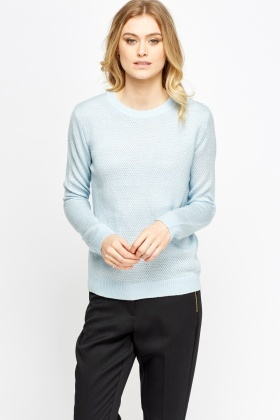 Metallic Front Jumper