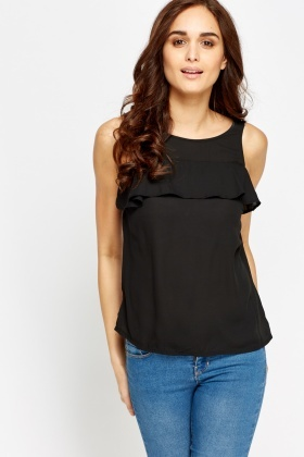 Flare Overlay Top