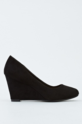 limited sale quality most desirable fashion Black Wedge Shoes