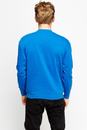 Logo Front Royal Blue Jumper
