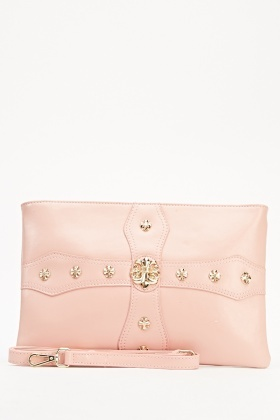 Detailed Clutch Bag