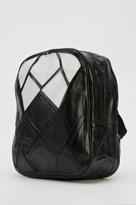 Printed Mono Backpack Just 163 5