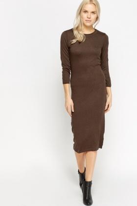 fd957e76c0d Knitted Long Jumper Dress - Just £5