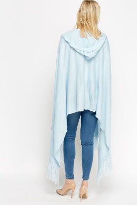 Hooded Asymmetric Cape