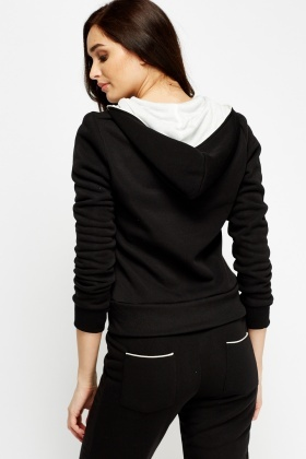 Basic Fleece Lined Hoodie