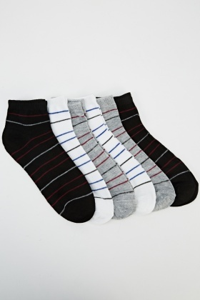 6 Pairs Of Invisible Socks