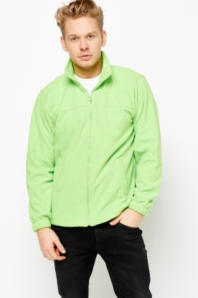 Basic Fleece Zipped Jacket