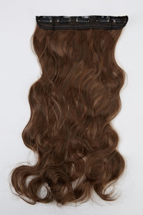 Curled Weft Hair Extension