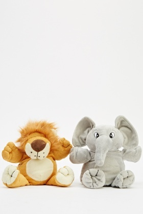 Pack Of 2 Animal Puppets