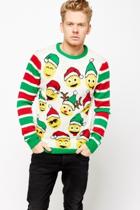 Christmas Emoji Jumper