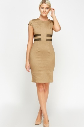 Formal Midi Pencil Dress