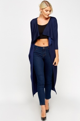 Waterfall Long Tied Cardigan