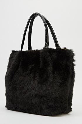 0e223228e3 Faux Fur Tote Bag - Just £5