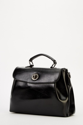 Faux Leather Small Handbag - Just £5