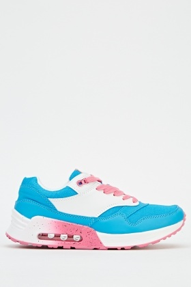 Contrast Multi Low Top Trainers