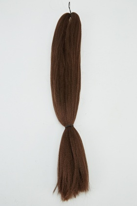 Weft Hair For Braid Extensions